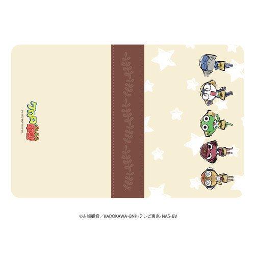 キャラケース「ケロロ軍曹」01/ケロロ小隊整列デザイン カフェver.(グラフアート)