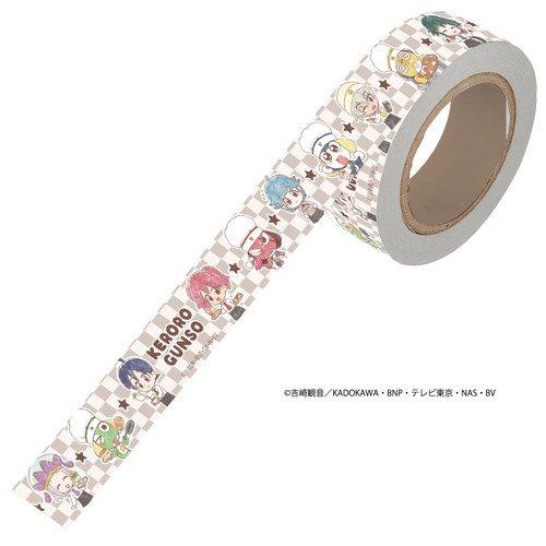 マスキングテープ「ケロロ軍曹」01/整列デザイン カフェver.(グラフアートmini)