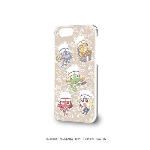 ハードケース(iPhone6/6s/7/8兼用)「ケロロ軍曹」01/ケロロ小隊 カフェver.(グラフアートmini)