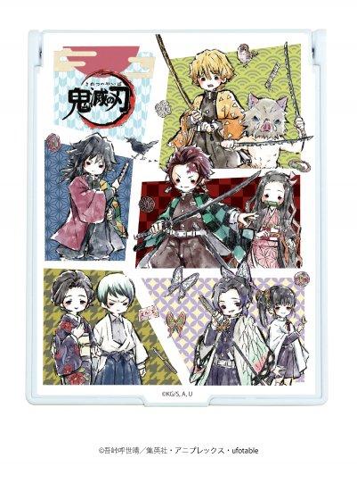 デカキャラミラー「鬼滅の刃」01/コマ割りデザイン(グラフアート)