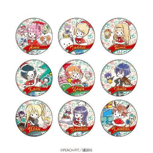缶バッジ「しゅごキャラ!」04/クリスマスver. ボックス(全9種)(グラフアート)