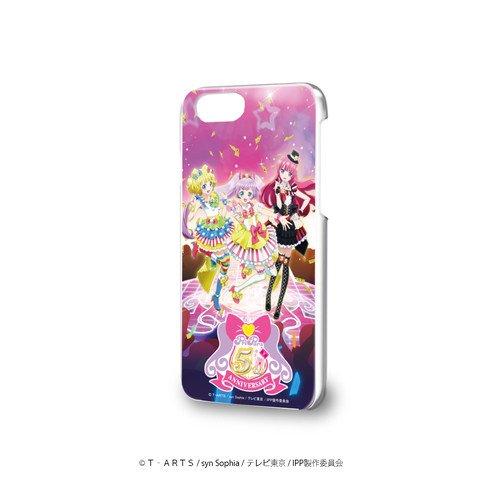 ハードケース(iPhone6/6s/7/8兼用)「プリパラ 5周年」01/真中らぁら&南みれぃ&北条そふぃ