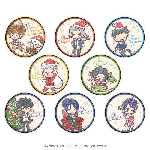 缶バッジ「家庭教師ヒットマン REBORN!」17/クリスマスver. ブラインド(全8種)(グラフアート)