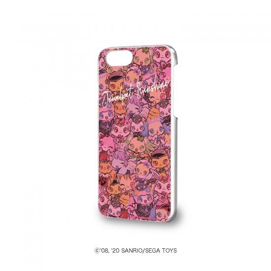 ハードケース(iPhone6/6s/7/8兼用)「ジュエルペット サンシャイン」01/ちりばめデザイン (グラフアート)