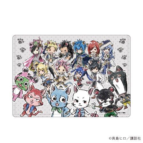 キャラクリアケース「FAIRY TAIL」03/猫の日ver. 集合デザイン(グラフアート)