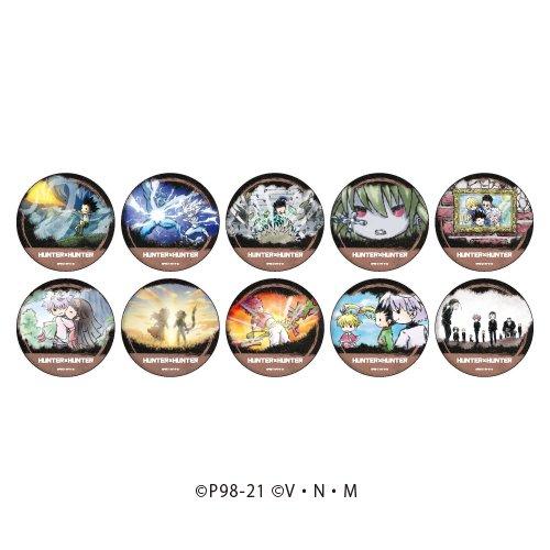 【限定商品】缶バッジ「HUNTER×HUNTER」03/場面写ver. ボックス(全10種)(グラフアート)
