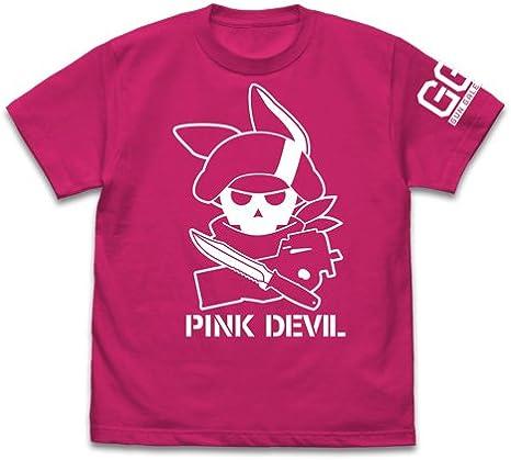 ソードアート・オンライン オルタナティブ ガンゲイル・オンライン ピンクの悪魔 Tシャツ トロピカルピンク Mサイズ