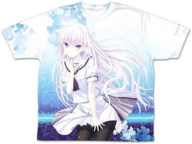 Summer Pockets 鳴瀬 しろは 両面フルグラフィックTシャツ Lサイズ