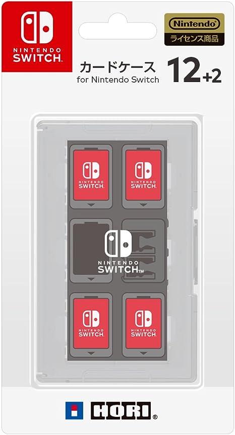 【Nintendo Switch対応】カードケース12+2 for Nintendo Switch ホワイト