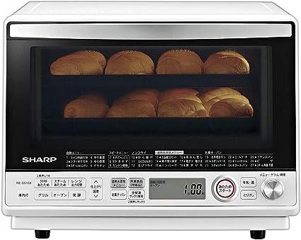 シャープ 過熱水蒸気 オーブンレンジ 31L コンベクション 2段調理 ホワイト RE-SS10-XW