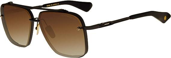Dita MACH-SIX マットブラック/ブラウンシェード 62/12/130 メンズ サングラス