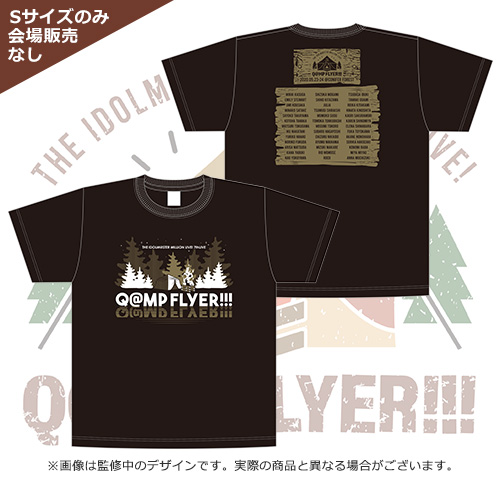 THE IDOLM@STER MILLION LIVE! 7thLIVE Q@MP FLYER!!! 公式Tシャツ Lサイズ