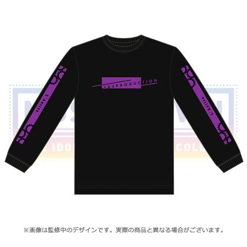 アイドルマスター シャイニーカラーズ 公式ロングスリーブシャツ 283プロ アンティーカ ver. ブラック Lサイズ