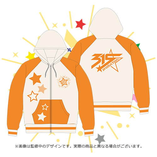 THE IDOLM@STER SideM THANKS ST@RRY PARTY!!!!!ダブルジップパーカー 315 Production DRAMATIC STARS Lサイズ