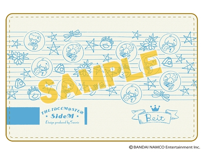 【グッズ-名刺ケース】THE IDOLM@STER SideM Design produced by Sanrio 名刺入れ (Beit)