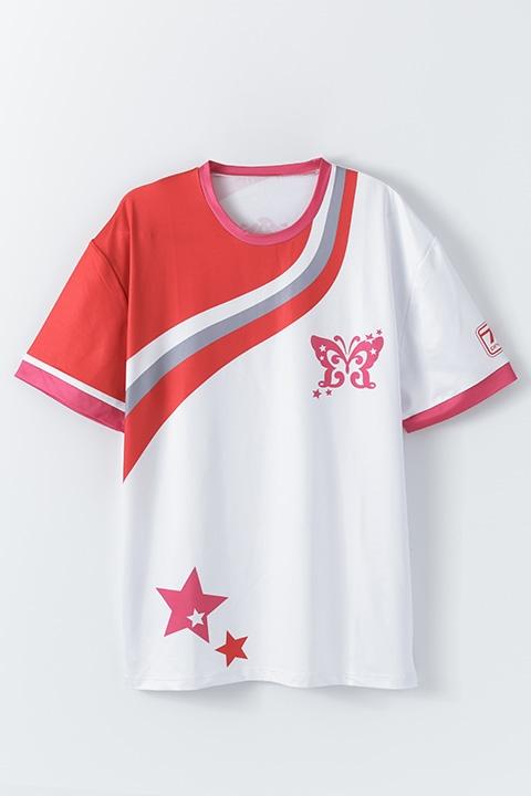 【コスプレ-コスプレアクセサリー】THE IDOLM@STER MILLION LIVE! レッスンTシャツ/Princessモデル【再販】