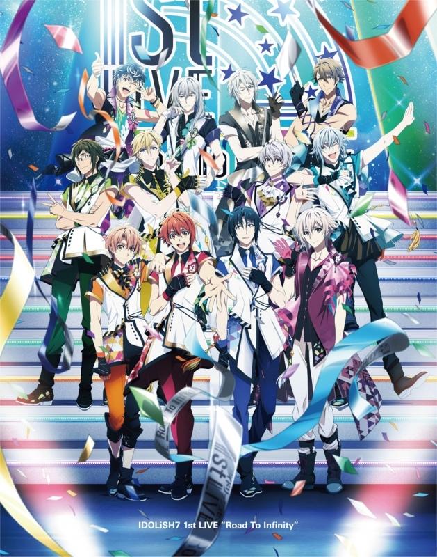 【Blu-ray】アイドリッシュセブン 1st LIVE Road To Infinity Blu-ray BOX -Limited Edition- アニメイト限定セット