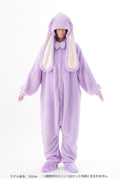 【コスプレ-衣装】A3! うさぎのもこもこ着ぐるみパジャマ/至ver.