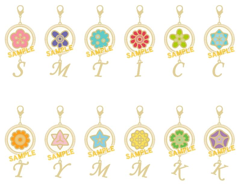 【グッズ-チャーム】A3! フラワーチャームコレクション/春組&夏組