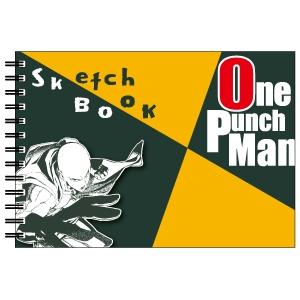 【グッズ-スケッチブック】ワンパンマン 図案スケッチブック サイタマ