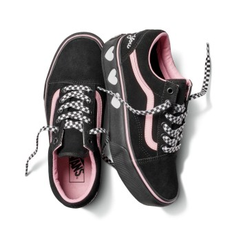 【VANS×LAZY OAF】OLD SKOOL ヴァンズ オールドスクール VN0A3B3UR2O 18FA (LAZY OAF)BLACK