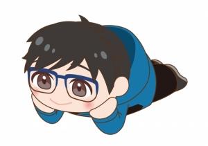 【グッズ-マスコット】ユーリ!!! on ICE ぴたれすと 勝生勇利