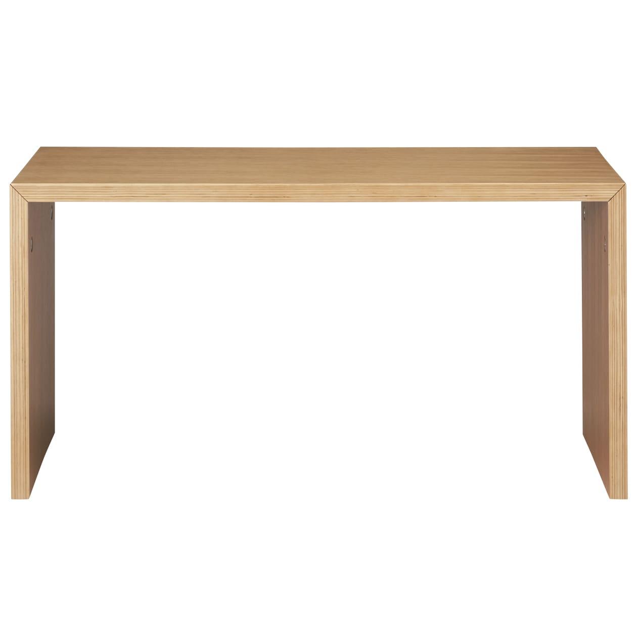 コの字の家具・積層合板・オーク材・幅70cm 幅70×奥行30×高さ35cm