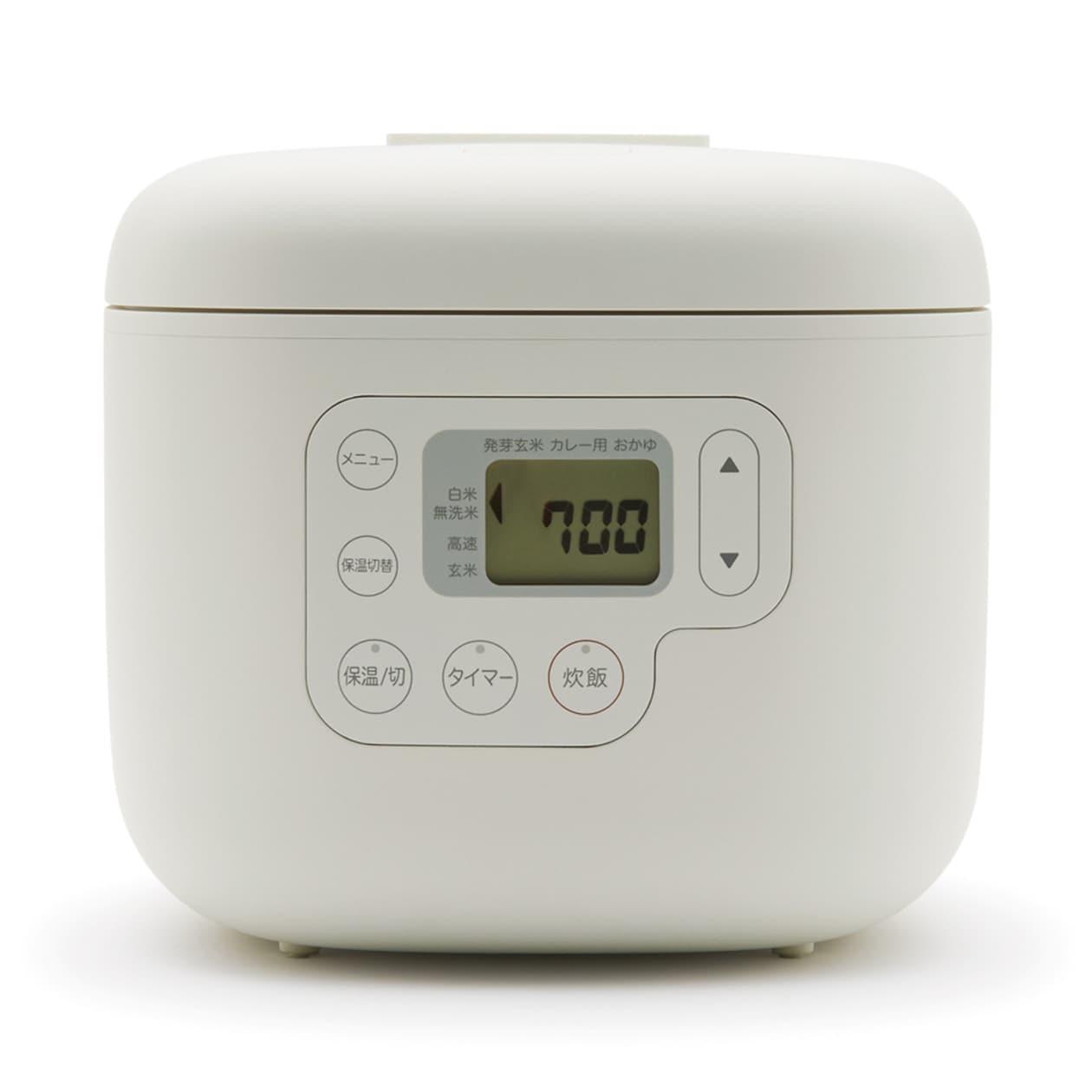 しゃもじ置き付き炊飯器・3合 型番:MJ‐RC3A2