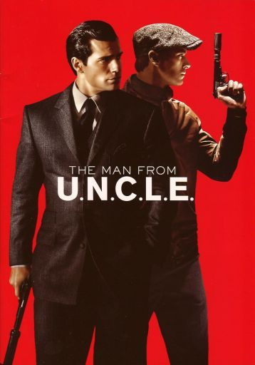 パンフ)THE MAN FROM U.N.C.L.E.