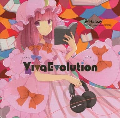 同人音楽CDソフト Viva Evolution / Halozy