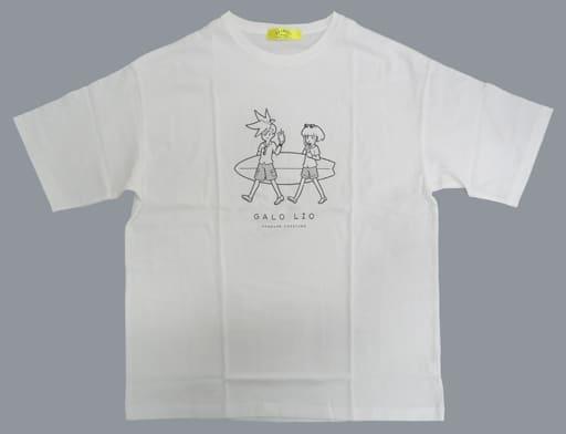 衣類 PROMARE Vacation ビッグシルエットT(Tシャツ) ホワイト フリーサイズ 「プロメア」