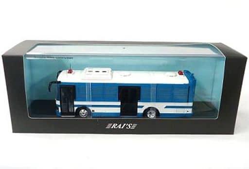 [破損品] 1/43 いすゞ エルガミオ バス 警察本部大型人員輸送車両 2007(ブルー×ホワイト) [H7430713]