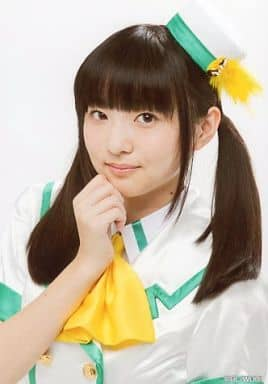 Wake Up, Girls!/田中美海/バストアップ・衣装白緑・右手グー顎・体斜め左向き/Bromide Collection - Vol.2.5-