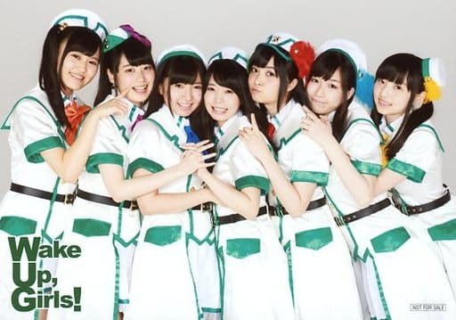 Wake Up Girls!/集合(7人)/横型/Blu-ray「Wake Up, Girls! 1st LIVE TOUR 素人臭くてごめんね。/Wake Up, Girl...
